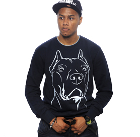 CLIMSKIN 'PIT BULL' CREW NECK SWEATER