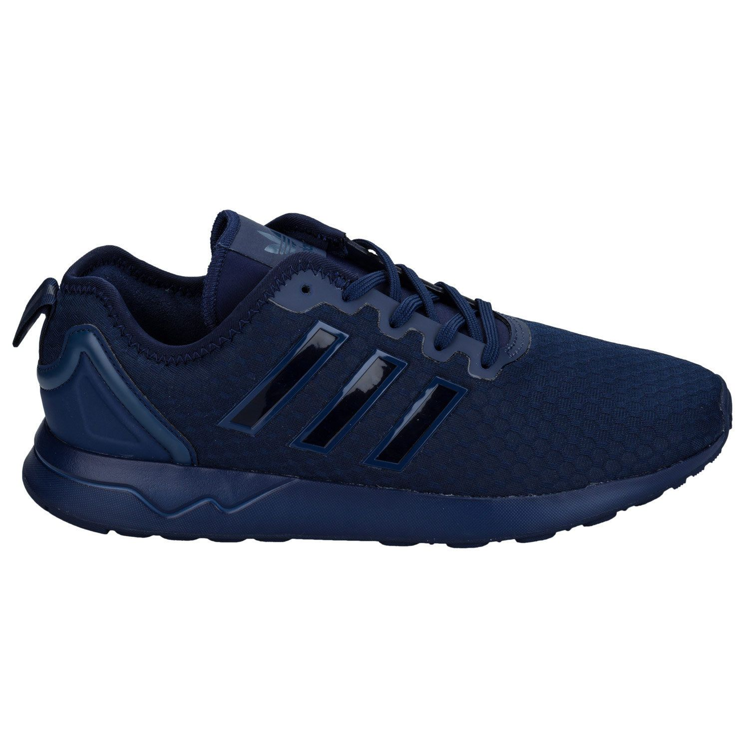 online store 6eeed d8f15 Men's adidas Originals ZX Flux ADV Trainers In Dark Blue